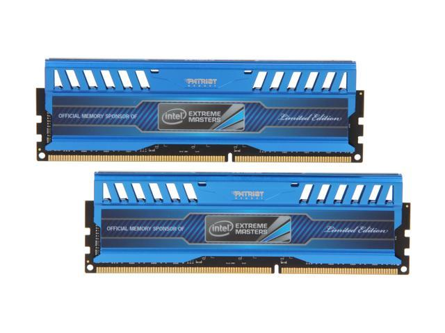 Patriot Intel Extreme Master, Limited Edition 16GB (2 x 8GB) 240-Pin DDR3 SDRAM DDR3 1600 (PC3 12800) Desktop Memory Model PVI316G160C9K