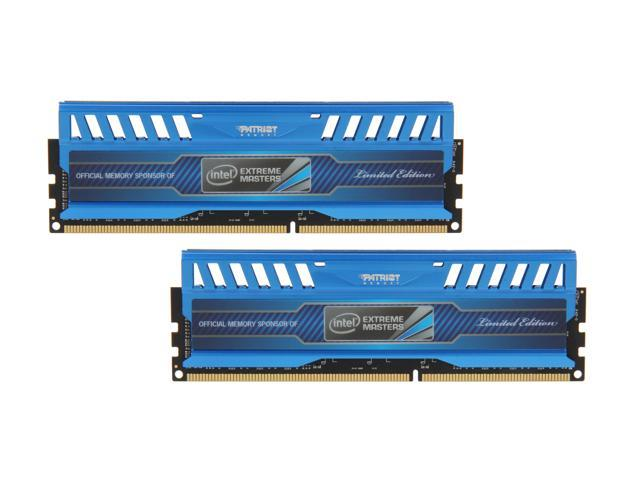 Patriot Intel Extreme Master, Limited Edition 16GB (2 x 8GB) 240-Pin DDR3 SDRAM DDR3 1866 (PC3 15000) Desktop Memory Model PVI316G186C0K