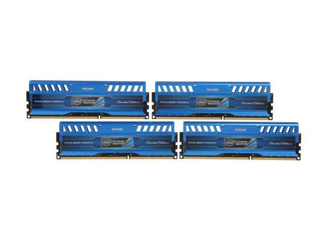 Patriot Intel Extreme Master, Limited Edition 16GB (4 x 4GB) 240-Pin DDR3 SDRAM DDR3 1866 (PC3 15000) Desktop Memory Model ...
