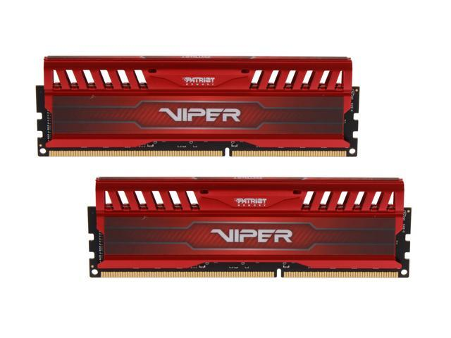 Patriot Viper 3 8GB (2 x 4GB) 240-Pin DDR3 SDRAM DDR3 1866 (PC3 15000) Desktop Memory Model PV38G186C9KRD