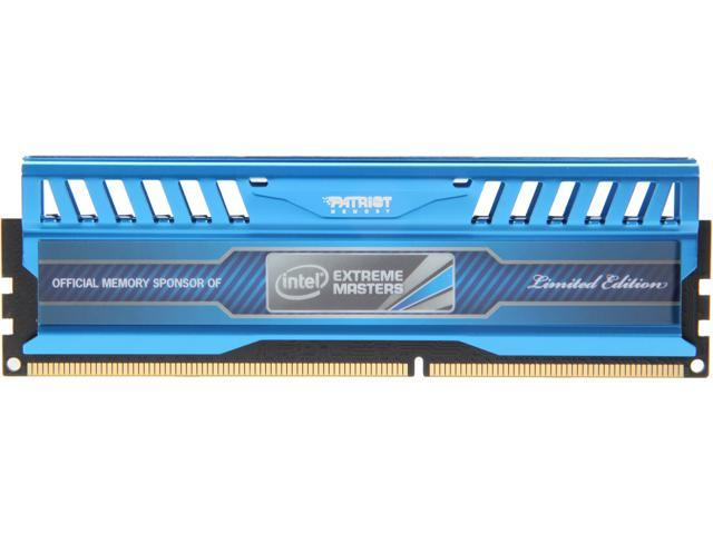 Patriot Viper 3 4GB 240-Pin DDR3 SDRAM DDR3 1600 (PC3 12800) Intel  Extreme Masters Desktop Memory Model PVI34G160C9