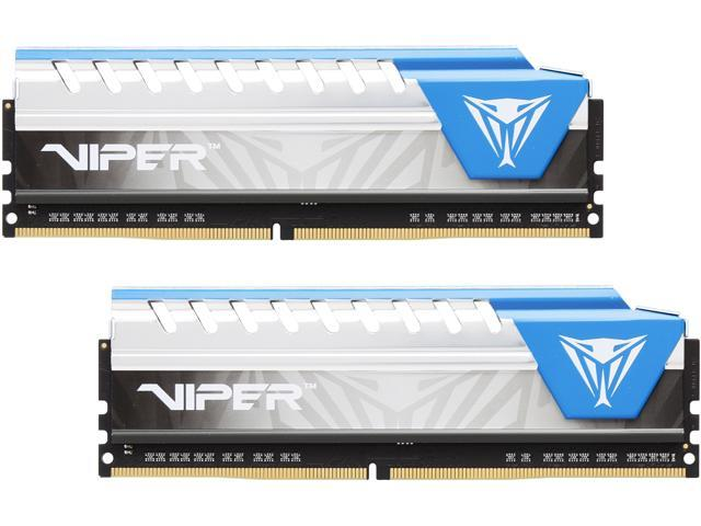 Patriot Viper Elite 16GB (2 x 8GB) 288-Pin DDR4 SDRAM DDR4 3000 (PC4 24000) Desktop Memory Model PVE416G300C6KBL