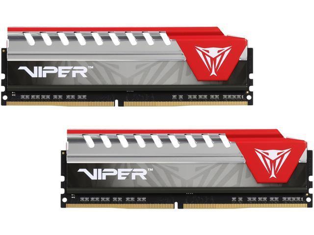 Patriot Viper Elite 16GB (2 x 8GB) 288-Pin DDR4 SDRAM DDR4 2666 (PC4 21300) Desktop Memory Model PVE416G266C5KRD
