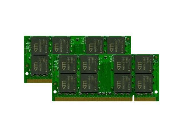 Mushkin Enhanced Essentials 8GB (2 x 4GB) 200-Pin DDR2 SO-DIMM DDR2 667 (PC2 5300) Dual Channel Kit Laptop Memory Model 996685