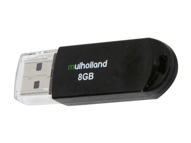 Mushkin Enhanced Mulholland 8GB USB 2.0 Flash Drive Model MKNUFDMH8GB