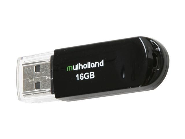 Mushkin Enhanced Mulholland 16GB USB 2.0 Flash Drive Model MKNUFDMH16GB