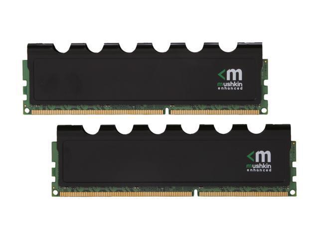 Mushkin Enhanced Blackline 8GB (2 x 4GB) 240-Pin DDR3 SDRAM DDR3 1600 (PC3 12800) Desktop Memory Model 996776