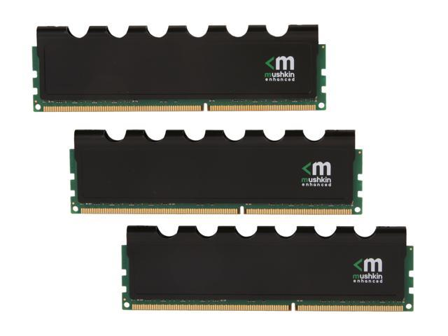 Mushkin Enhanced Blackline 12GB (3 x 4GB) 240-Pin DDR3 SDRAM DDR3 1600 (PC3 12800) Desktop Memory Model 998776