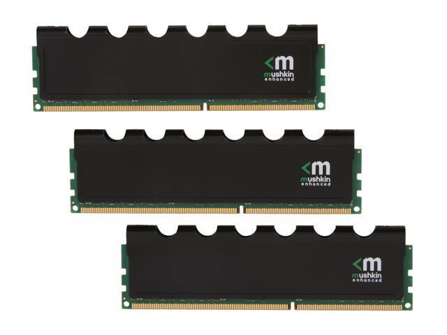 Mushkin Enhanced Blackline 12GB (3 x 4GB) 240-Pin DDR3 SDRAM DDR3 1600 (PC3 12800) Desktop Memory Model 998776