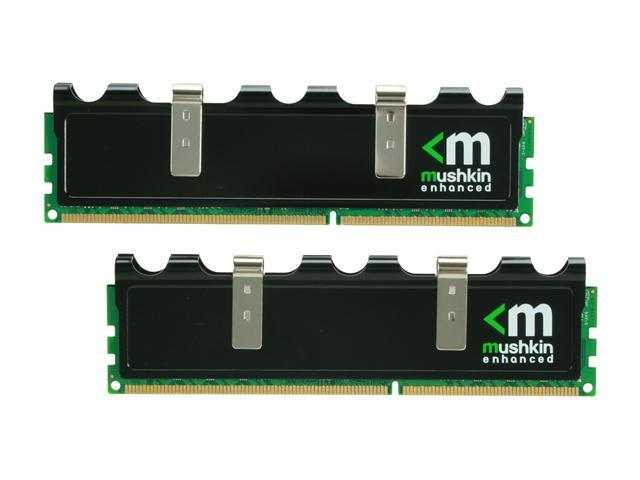 Mushkin Enhanced Blackline 4GB (2 x 2GB) 240-Pin DDR3 SDRAM DDR3 1600 (PC3 12800) Desktop Memory Model 996782
