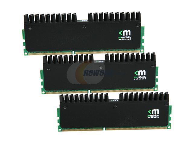 Mushkin Enhanced Ridgeback 12GB (3 x 4GB) 240-Pin DDR3 SDRAM DDR3 2000 (PC3 16000) Desktop Memory Model 998953