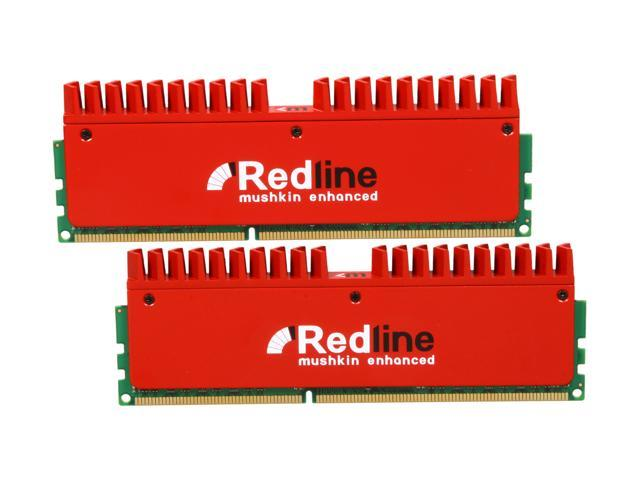 Mushkin Enhanced Redline 8GB (2 x 4GB) 240-Pin DDR3 SDRAM DDR3 1600 (PC3 12800) Desktop Memory Model 996982