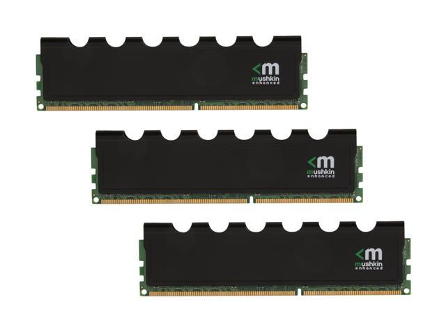 Mushkin Enhanced Blackline 12GB (3 x 4GB) 240-Pin DDR3 SDRAM DDR3 2000 (PC3 16000) Desktop Memory w/FrostByte Heatsink Model 998990