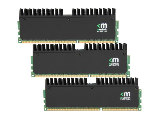 Mushkin Enhanced Ridgeback 12GB (3 x 4GB) 240-Pin DDR3 SDRAM DDR3 2000 (PC3 16000) Desktop Memory Model 998991