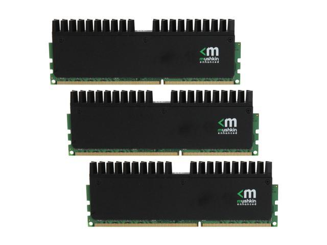Mushkin Enhanced Ridgeback 12GB (3 x 4GB) 240-Pin DDR3 SDRAM DDR3 1600 (PC3 12800) Desktop Memory Model 998998