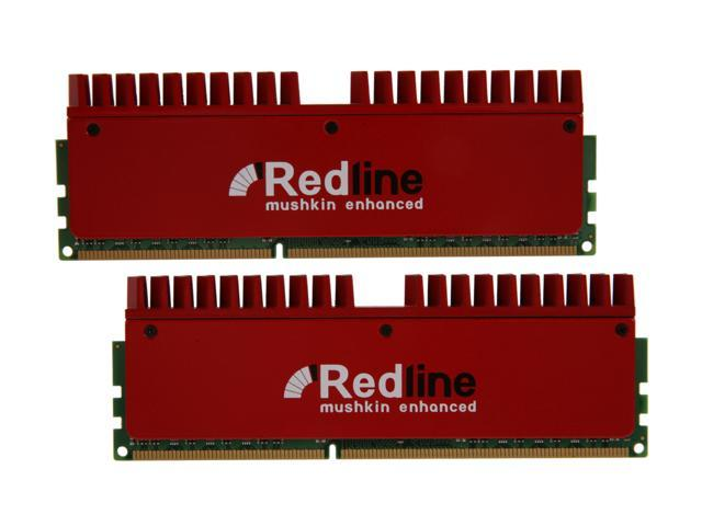 Mushkin Enhanced Redline 8GB (2 x 4GB) 240-Pin DDR3 SDRAM DDR3 1866 (PC3 14900) Desktop Memory Model 997008