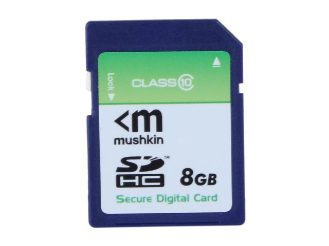 Mushkin Enhanced 8GB Secure Digital High-Capacity (SDHC) Flash Card Model MKNSDHCC10-8GB
