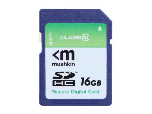Mushkin Enhanced 16GB Secure Digital High-Capacity (SDHC) Flash Card Model MKNSDHCC10-16GB