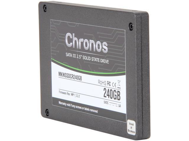 "Mushkin Enhanced Chronos 2.5"" 240GB SATA III MLC Internal Solid State Drive (SSD) MKNSSDCR240GB"