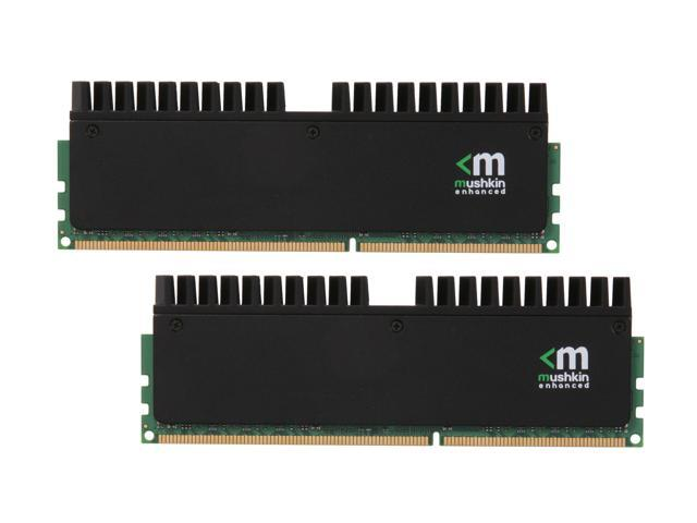 Mushkin Enhanced Blackline 8GB (2 x 4GB) 240-Pin DDR3 SDRAM DDR3 1600 (PC3 12800) Desktop Memory Model 997046