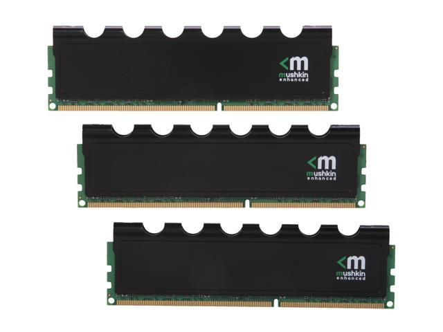 Mushkin Enhanced Blackline 12GB (3 x 4GB) 240-Pin DDR3 SDRAM DDR3 1600 (PC3 12800) Desktop Memory Model 999043