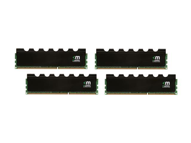 Mushkin Enhanced Blackline 16GB (4 x 4GB) 240-Pin DDR3 SDRAM DDR3 1600 (PC3 12800) Desktop Memory Model 994043