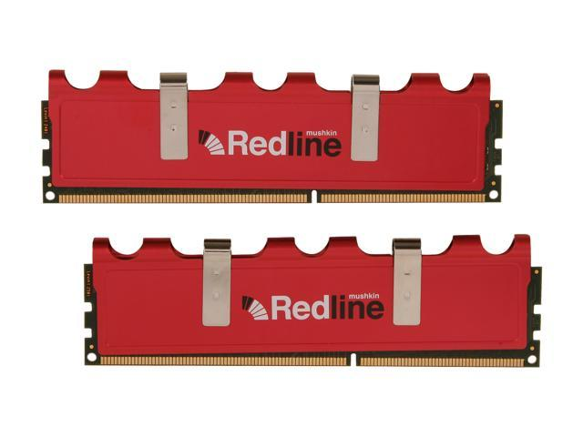 Mushkin Enhanced Redline 8GB (2 x 4GB) 240-Pin DDR3 SDRAM DDR3 1600 (PC3 12800) Desktop Memory Model 997056