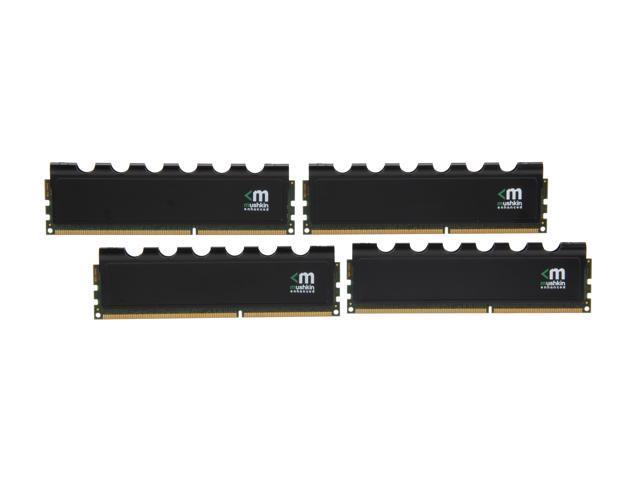 Mushkin Enhanced Blackline 32GB (4 x 8GB) 240-Pin DDR3 SDRAM DDR3 1600 (PC3 12800) Desktop Memory Model 994050
