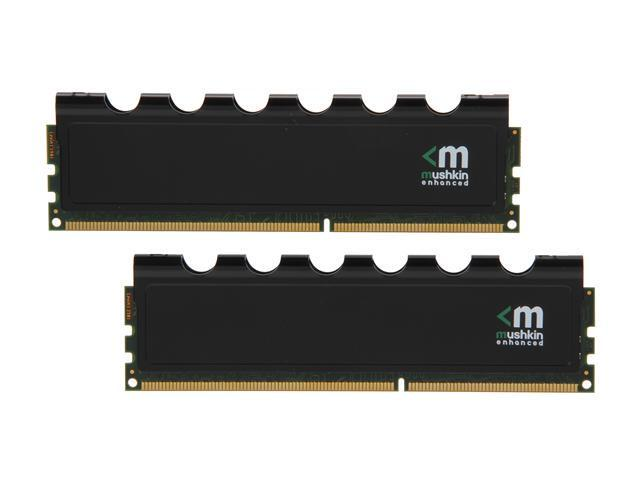 Mushkin Enhanced Blackline 16GB (2 x 8GB) 240-Pin DDR3 SDRAM DDR3 1600 (PC3 12800) Desktop Memory Model 997055