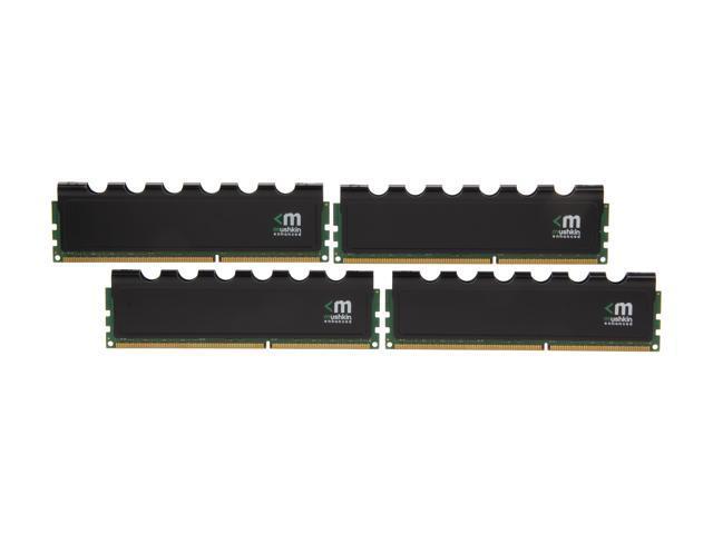 Mushkin Enhanced Blackline 32GB (4 x 8GB) 240-Pin DDR3 SDRAM DDR3L 1866 (PC3L 14900) Desktop Memory Model 994072