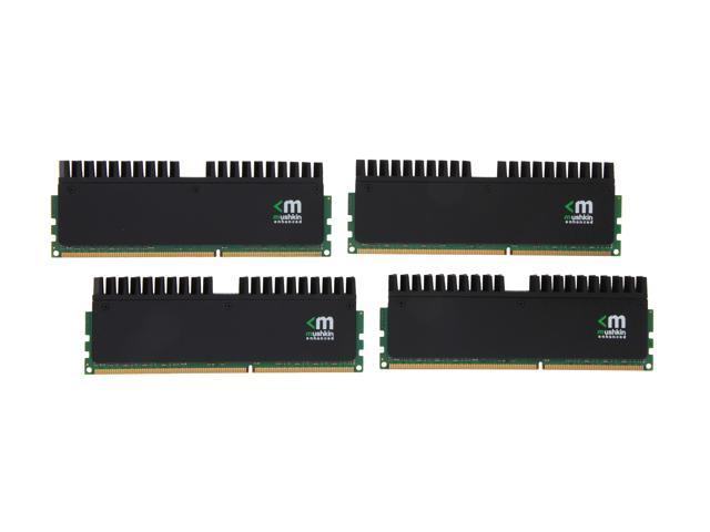 Mushkin Enhanced Blackline 32GB (4 x 8GB) 240-Pin DDR3 SDRAM DDR3L 1866 (PC3L 14900) Desktop Memory Model 994073