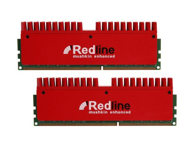 Mushkin Enhanced Redline 16GB (2 x 8GB) 240-Pin DDR3 SDRAM DDR3 1866 (PC3 14900) Desktop Memory Model 997071