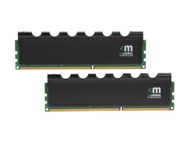 Mushkin Enhanced Blackline 16GB (2 x 8GB) 240-Pin DDR3 SDRAM DDR3L 1866 (PC3L 14900) Desktop Memory Model 997072