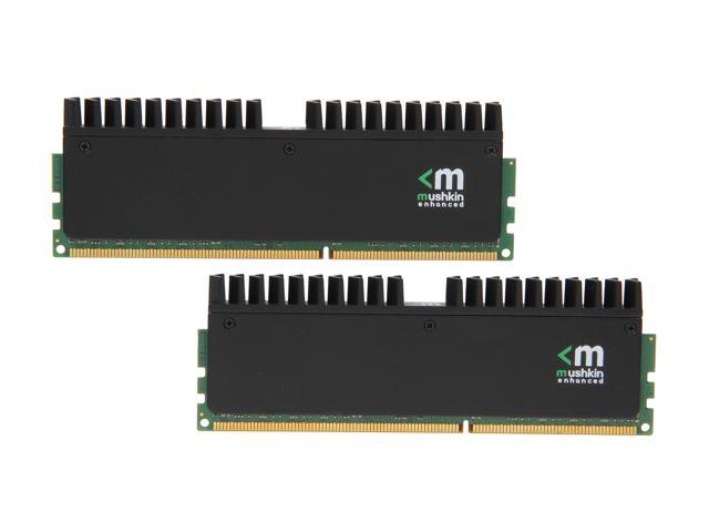 Mushkin Enhanced Blackline 16GB (2 x 8GB) 240-Pin DDR3 SDRAM DDR3L 1866 (PC3L 14900) Desktop Memory Model 997073