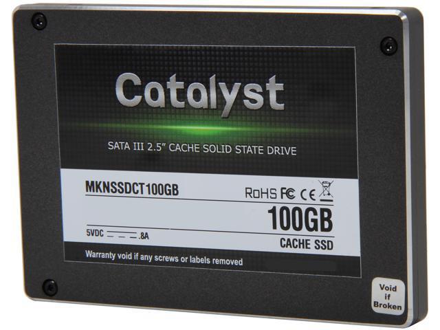 """Mushkin Enhanced Catalyst 2.5"""" 100GB SATA III MLC Internal Solid State Drive (SSD) MKNSSDCT100GB"""