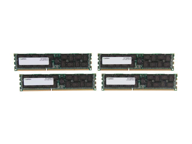 Mushkin Enhanced 64GB (4 x 16GB) 240-Pin DDR3 SDRAM DDR3 1333 (PC3 10600) Memory for Apple Model 973980A