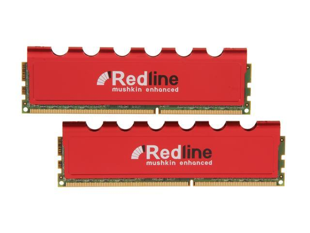 Mushkin Enhanced Redline 16GB (2 x 8GB) 240-Pin DDR3 SDRAM DDR3 1866 (PC3 14900) Desktop Memory Model 997104
