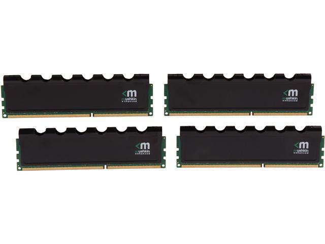Mushkin Enhanced Blackline 32GB (4 x 8GB) 240-Pin DDR3 SDRAM DDR3L 1600 (PC3L 12800) Desktop Memory Model 994110