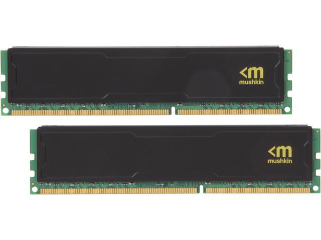 Mushkin Enhanced STEALTH 8GB (2 x 4GB) 240-Pin DDR3 SDRAM DDR3 1600 (PC3 12800) Desktop Memory Model 997043S