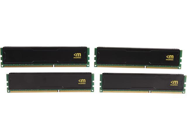 Mushkin Enhanced STEALTH 32GB (4 x 8GB) 240-Pin DDR3 SDRAM DDR3L 1600 (PC3L 12800) Desktop Memory Model 994110S