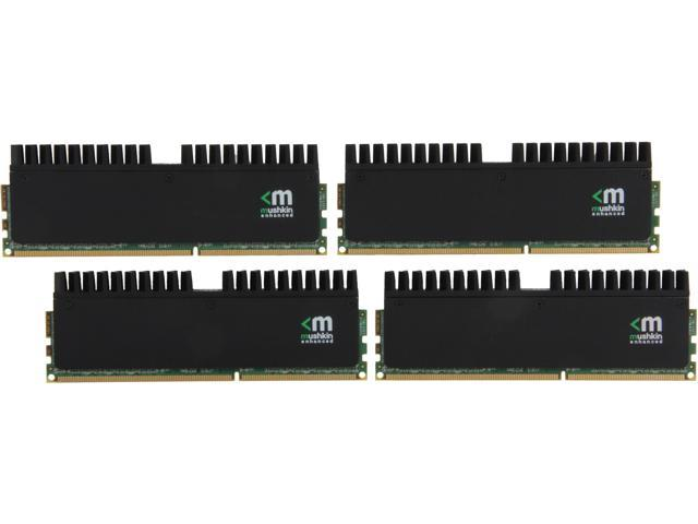 Mushkin Enhanced Blackline 32GB (4 x 8GB) 240-Pin DDR3 SDRAM DDR3 2400 (PC3 19200) Desktop Memory Model 994123R