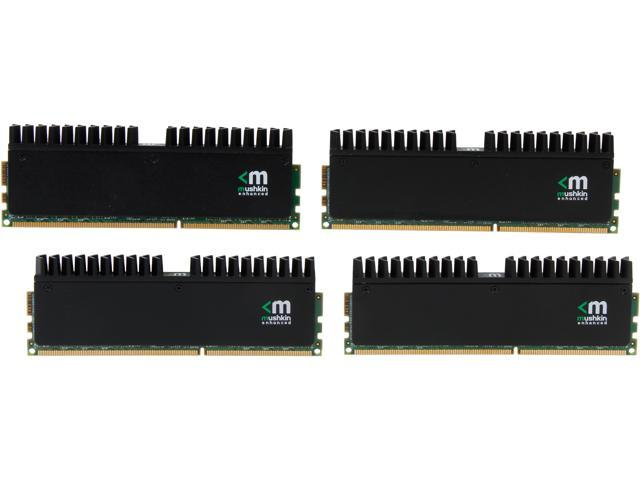 Mushkin Enhanced Blackline 32GB (4 x 8GB) 240-Pin DDR3 SDRAM DDR3 2133 (PC3 17000) Desktop Memory Model 994124R