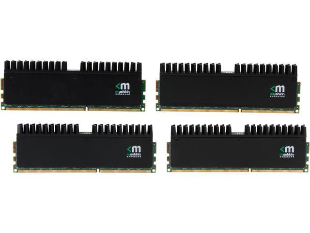 Mushkin Enhanced Blackline 32GB (4 x 8GB) 240-Pin DDR3 SDRAM DDR3 2133 (PC3 17000) Desktop Memory Model 994124R