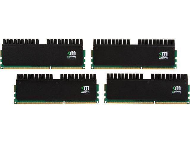 Mushkin Enhanced Blackline 16GB (4 x 4GB) 240-Pin DDR3 SDRAM DDR3 2666 (PC3 21300) Desktop Memory Model 994127R