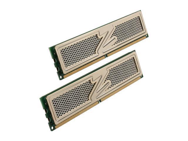 OCZ Gold 4GB (2 x 2GB) 240-Pin DDR2 SDRAM DDR2 800 (PC2 6400) Dual Channel Kit Desktop Memory Model OCZ2G8004GK