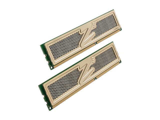 OCZ Gold 4GB (2 x 2GB) 240-Pin DDR3 SDRAM DDR3 1600 (PC3 12800) Dual Channel Kit Desktop Memory Model OCZ3G16004GK