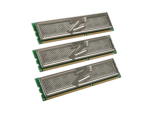 OCZ Platinum 6GB (3 x 2GB) 240-Pin DDR3 SDRAM DDR3 1333 (PC3 10666) Triple Channel Kit Desktop Memory Model OCZ3P1333LV6GK