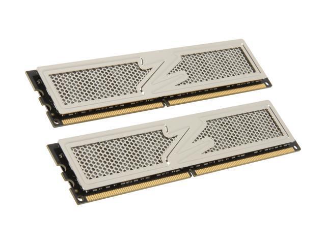 OCZ Platinum 4GB (2 x 2GB) 240-Pin DDR2 SDRAM DDR2 800 (PC2 6400) Enhanced Bandwidth Dual Channel Kit Desktop Memory Model OCZ2P800EB4GK