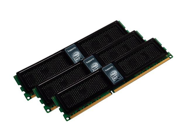 OCZ 6GB (3 x 2GB) 240-Pin DDR3 SDRAM DDR3 1333 (PC3 10666) Triple Channel Kit Desktop Memory Model OCZ3X1333LV6GK
