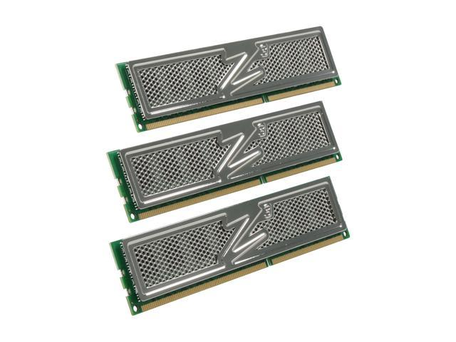 OCZ Platinum 6GB (3 x 2GB) 240-Pin DDR3 SDRAM DDR3 1600 (PC3 12800) Low Voltage Desktop Memory Model OCZ3P1600LV6GK